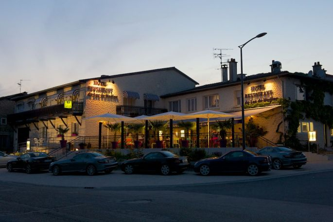 Landhotel mit schöner Speisekarte